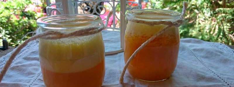 receta mouse de naranja
