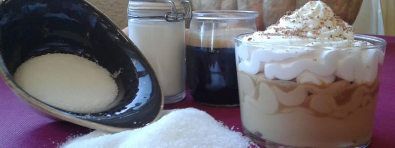 receta mousse de café