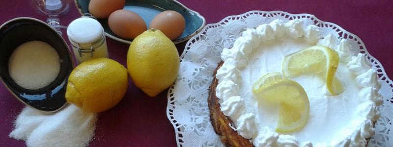receta de pay de limón